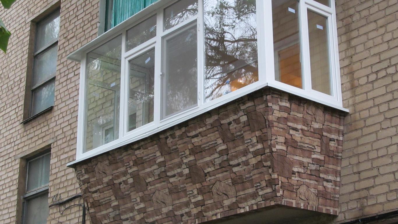 Остекление балконов и лоджий. расширение балкона - галерея о.
